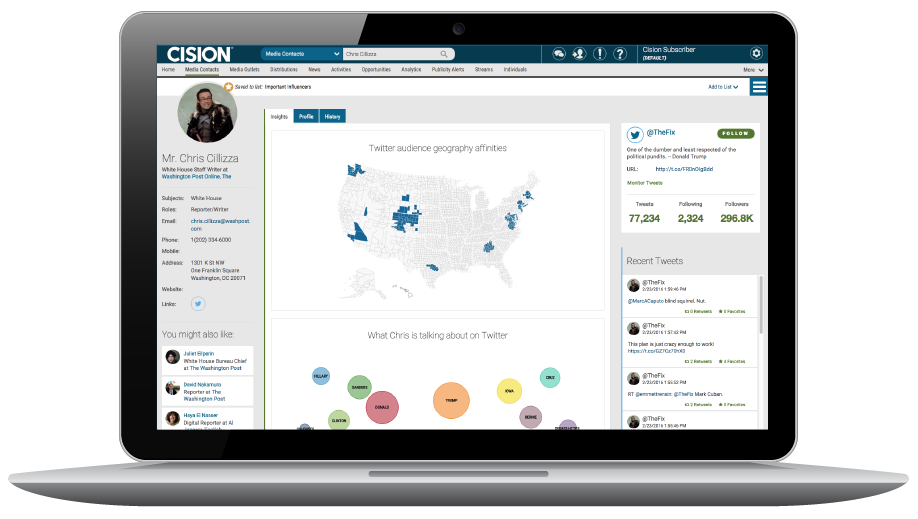 It's here!  Cision's new Integrated Platform