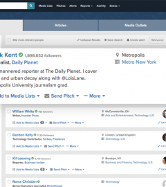 Muck Rack joins Media Databases and Media Monitoring Tools